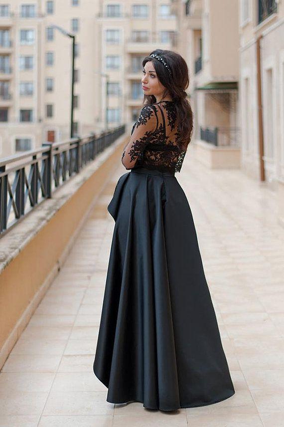 Long Satin Skirt   Maxi Skirt   Sexy Skirt   Womens Skirts ... f62a02cf5