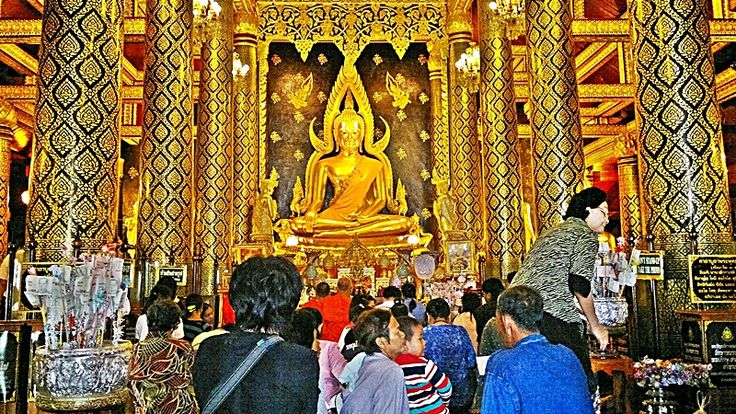 Phitsanulok, la ville du Bouddha Chinnarat #Thaïlande #voyage #Asie #tourisme #Phitsanulok #Bouddhisme #BouddhaChinnarat #Temple