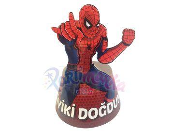 Spiderman Şekilli Doğum Günü Şapkası