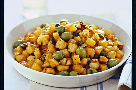 Patate apparecchiate alla siracusana: Ricetta Antipasto Siciliano