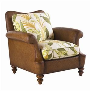 Island Estate Agave Wicker Chair By Tommy Bahama Home