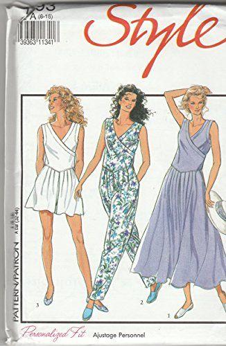 29 best Women\'s Rompers & Jumpsuit Patterns images on Pinterest ...