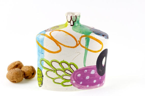Ceramic and Pottery free shipping spring colors on by TheClayPlay, $99.00