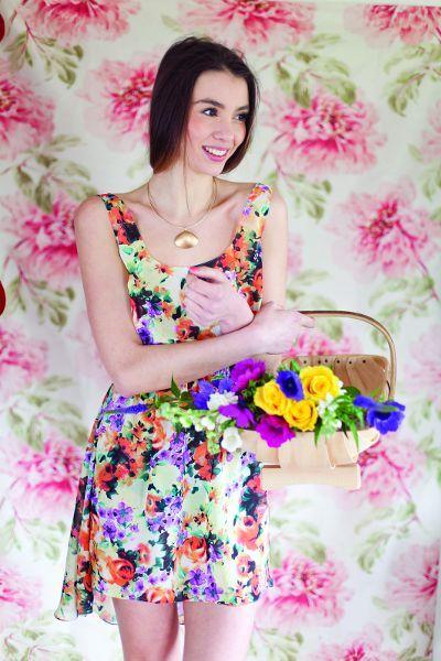 yo elijo coser: Patrón gratis: vestido de verano sencillo y ligero con falda asimétrica