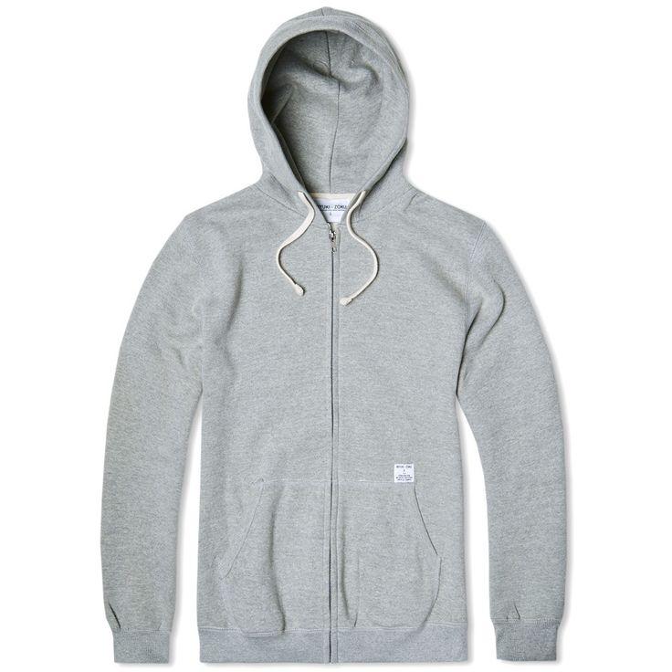 MKI Zip Hoody (Grey)