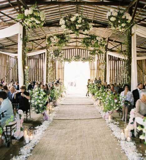 Weddingdeco.nl | Lopers - Tijdens de ceremonie - Ceremonie
