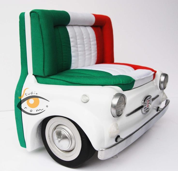 "Models of sofas ""Meritalia"" for the Salone del mobile. Milano 2012"