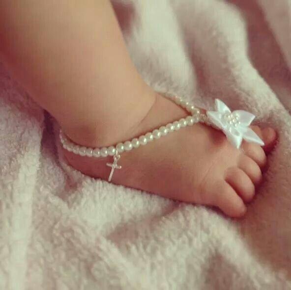 Baby barefoot sandal
