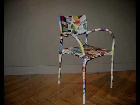 Paperchairs ... De Breeze en Pacific van segis  in een papieren afwerking…