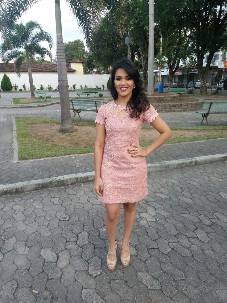 Vestido rosa quartz