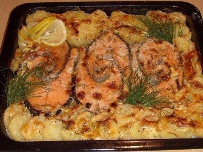 Pokud máte rádi ryby, připravte si tento recept. Pstruh na bylinkách a smetaně. Jako přílohu podáváme brambory.