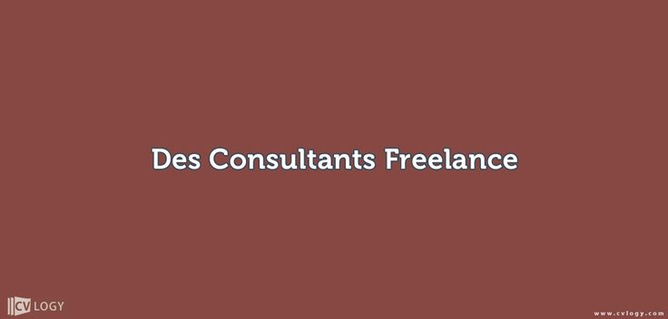 #Recrutement de #Consultants #formateurs en #freelance------>