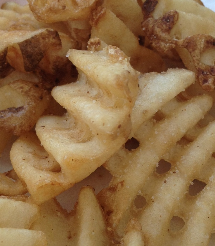 Chick FA la waffle fries...just looking at them makes me hungry!!!!