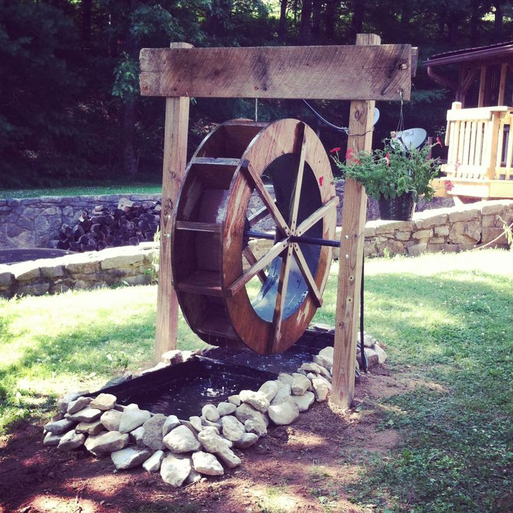 17 Best Images About WATER WHEEL Amp LANDSCAPE On Pinterest
