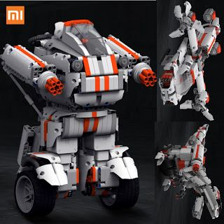 Best Gift Xiaomi Robot Building Block Robot Bluetooth Mobile Remote Control 978 Spare Parts Self-balance System Module Program (32764673693)  SEE MORE  #SuperDeals