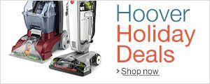 Get you hoover vacuum now. Get benefit of #hooverHolidaydeals