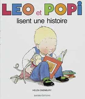 Leo et Popi lisent une histoire - Ed Centurion jeunesse