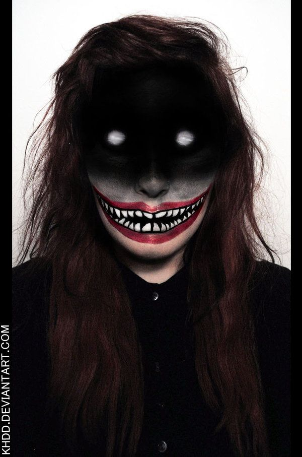 Makeup Detail: It Came from the Deep Web by Khdd.deviantart.com on @deviantART