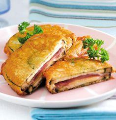 Recetario Caprabo: berenjena rebozada rellena de jamón y queso | El Blog de Deliberry