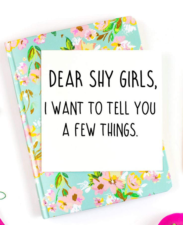 A Love Letter to Shy Girls - Blessing Manifesting