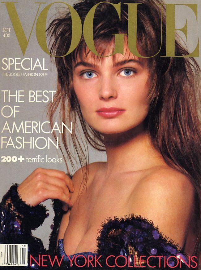 Paulina Porizkova, photo by Richard Avedon, Vogue US, September 1986*                                                                                                                                                                                 More