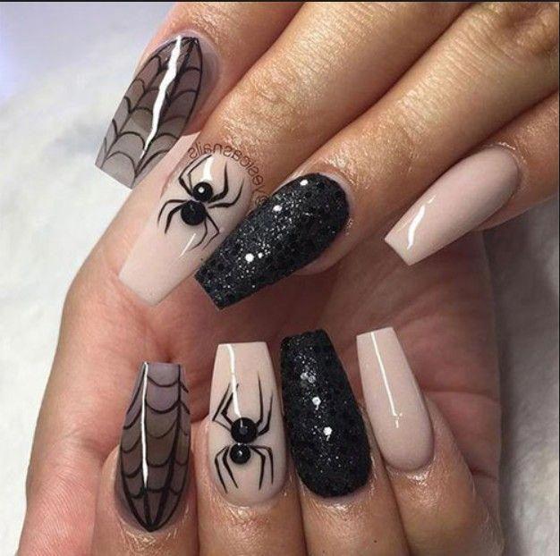 70 auffällige und modische Acrylnägel, matte Nägel, Design, das Sie ausprobieren sollten …   – acrylic nails glitter