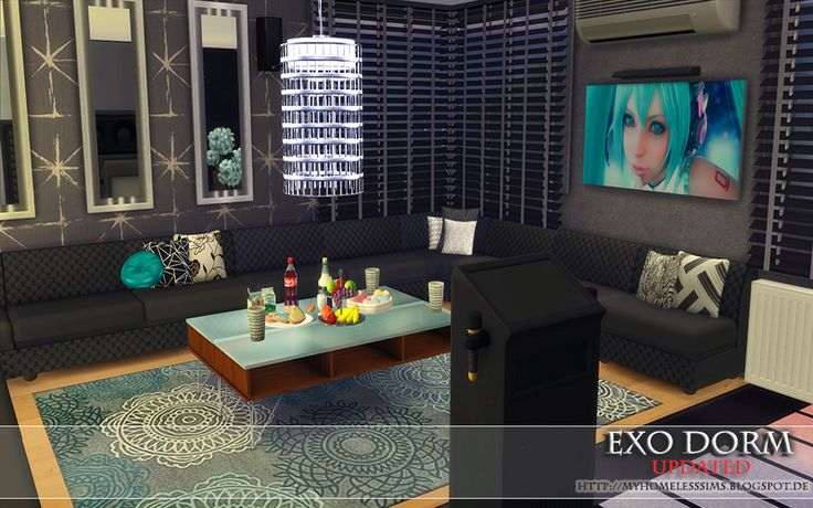 """form the Lot """"EXO Dorm"""" (Updated Version II)"""