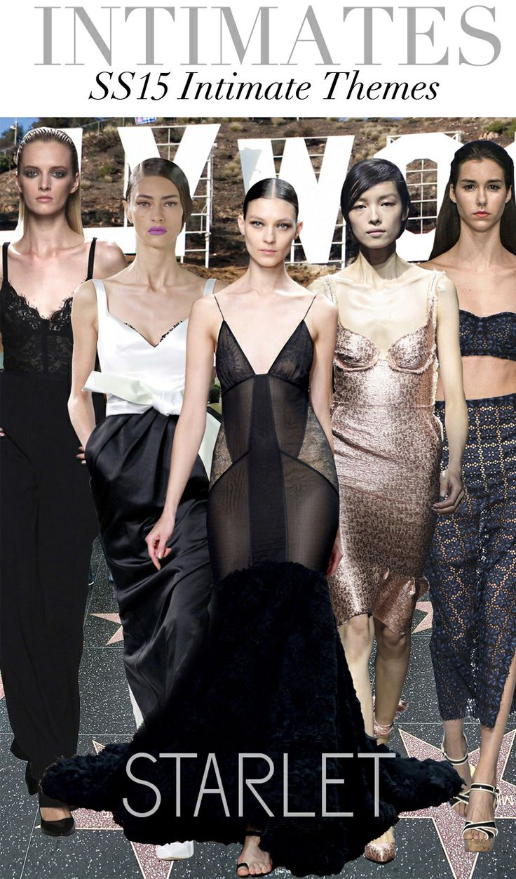 Trend Council:  SS15 Intimate Themes - Starlet