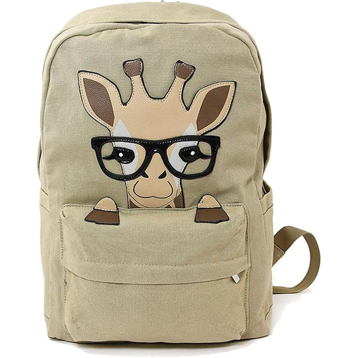 Sleepyville Critter Nerdy Baby Giraffe Backpack