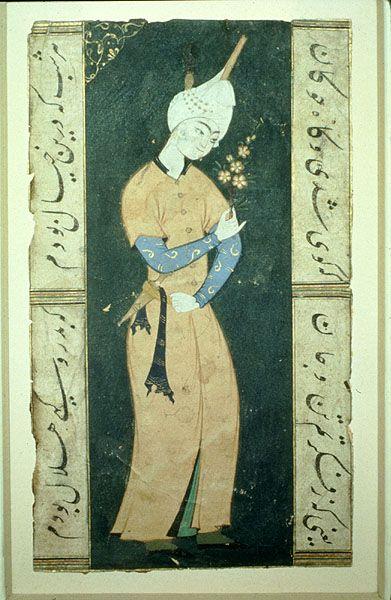 Hunting Scene, 16th century, early Safavid miniature
