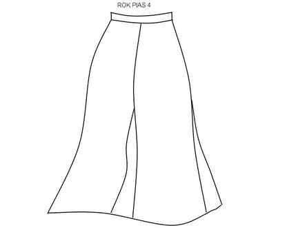Cara Menjahit Pakaian: Rok Pias 4