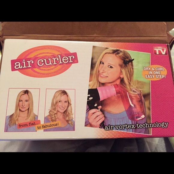 NEW AIR CURLER TOOL This product was offered on TV.  It is a revolutionary air styling tool to create curls in seconds. It' brand new in the box. Two available. Air Curler Other