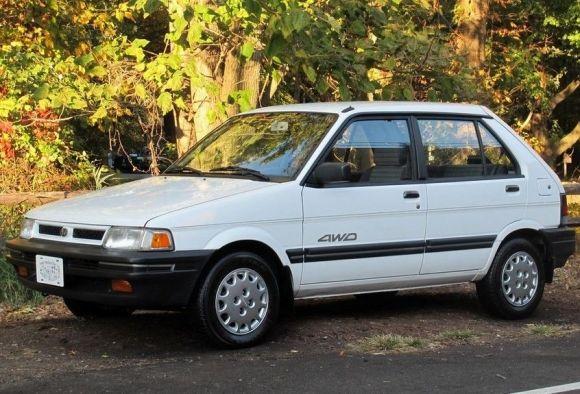 Subaru Justy AWD 1990.