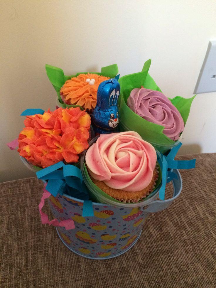 Easter Cupcake Bucket