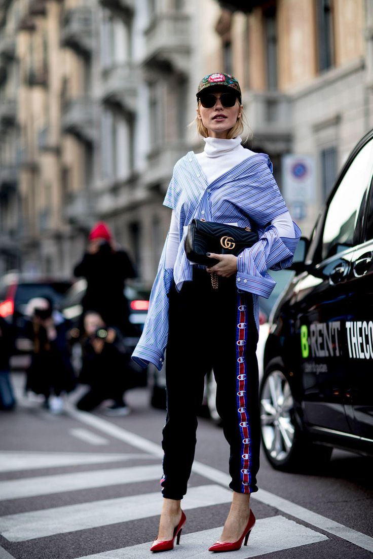 Of Course Showgoers Wore Gucci on Day 1 of Milan Fashion Week - Fashionista