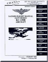 Lockheed KC-130 R Aircraft Flight Manual - 01-75GAG - 1995