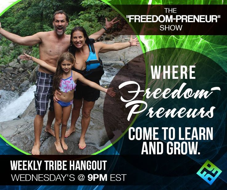 """The """"Freedom-Preneur"""" Show where freedom preneur come to learn and grow. Join now! This is weekly tribe hangout Every wednesday @ 9pm EST #BeUnstoppable #mediaandcity #brandit #UnstoppableMomma #Entrepreneur @bonniebruderer @mediaandthecity @rhondarswan @askbonbon"""
