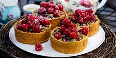 Try this Pistachio Frangipane Tarts with Roasted Rhubarb and Raspberries recipe by Chef Maggie Beer.This recipe is from the show The Great Australian Bake Off.