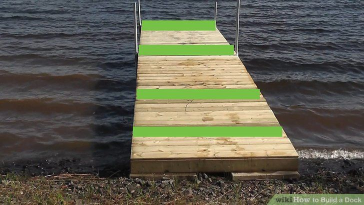 How To Build A Dock 13 Steps With Pictures Building A Dock Diy Dock Lakefront Living
