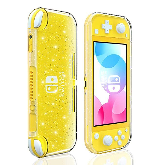 Amazon Com Crystal Glitter Case For Nintendo Switch Lite Clear