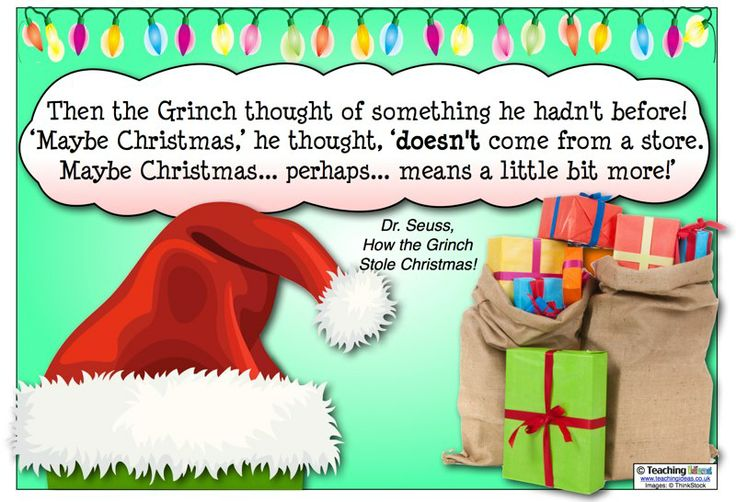 Christmas Book Quotes: How The Grinch Stole Christmas Book Quotes. QuotesGram