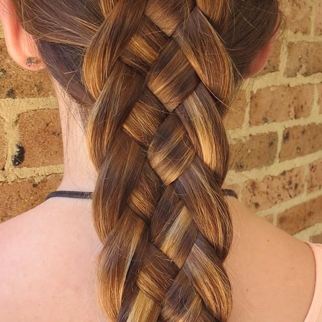5 Strand Dutch Braid Hairstyles For Long Hair