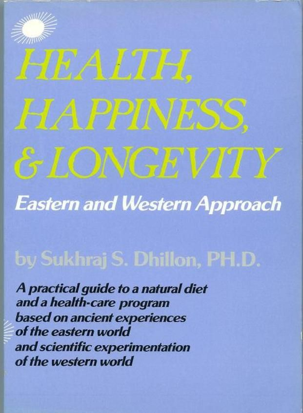 """""""Health, Happiness & Longevity"""" available in digital & print editions."""