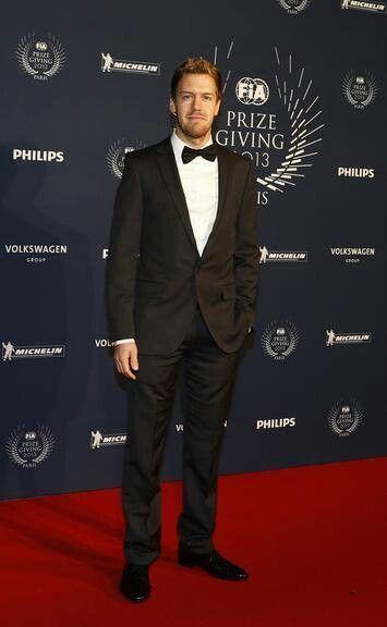 Sebastian Vettel. F1 2013 gala