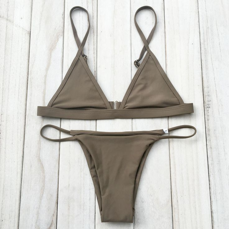 Women Swimsuit Micro Halter Strap Swimwear Brazilian bikinis