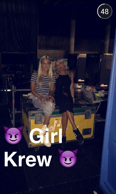 Lou teasdale snapchat 2015 with lottie tomlinson