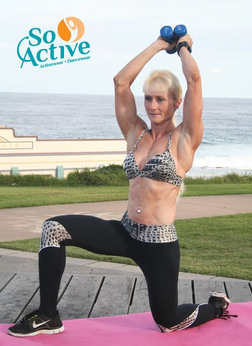 The lovely Debbie Keen featured in So Active