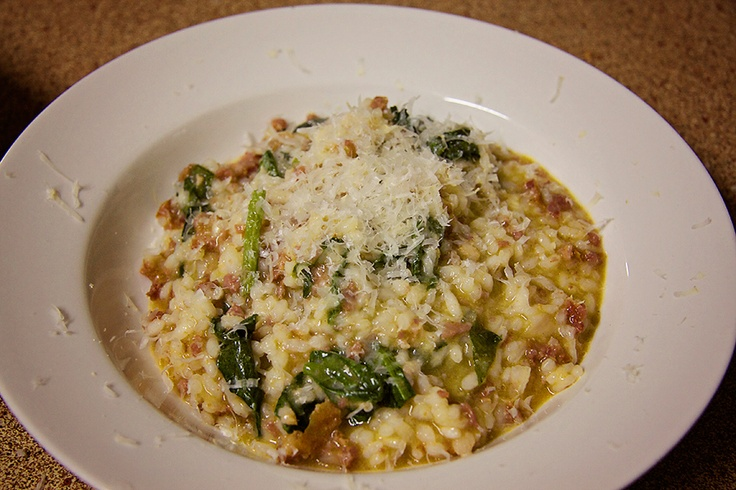 Thermomix Chorizo, Spinach & Lemon Risotto