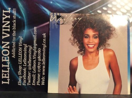 Whitney Houston Whitney LP Album Vinyl Record 208141 Pop 80's Arista Music:Records:Albums/ LPs:Pop:1980s