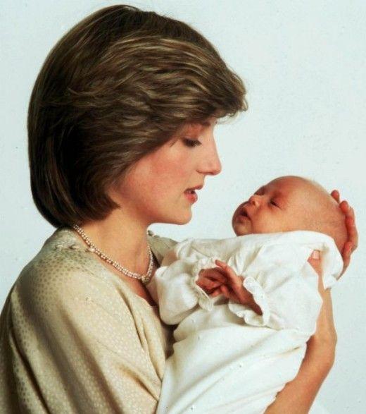 Prințesa Diana și Prințul William